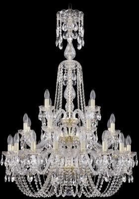 Подвесная люстра Bohemia Ivele 1402/16+8+4/300/XL-123/3D/G bohemia ivele crystal подвесная люстра bohemia ivele 1402 16 300 g