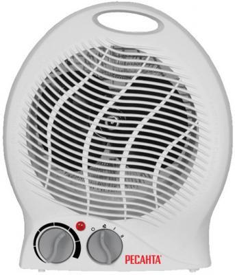 Тепловентилятор Ресанта ТВС-2 2000 Вт термостат белый цена и фото