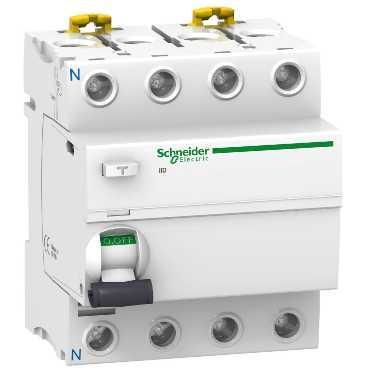 Выключатель дифференциального тока Schneider Electric iID 4П 25A 300мА A A9R24425