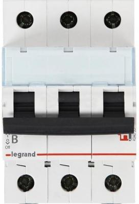 Автоматический выключатель Legrand TX3 6000 тип B 3П 25А 404002