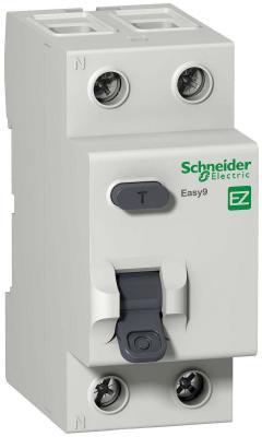 Выключатель дифференциального тока Schneider Electric EASY 9 2П 40A 30мА AC EZ9R34240 цена
