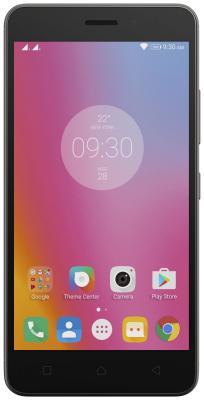 Смартфон Lenovo K6 Power серый 5 16 Гб LTE Wi-Fi GPS 3G PA5E0147RU смартфон zte blade v8 золотистый 5 2 32 гб lte wi fi gps 3g bladev8gold