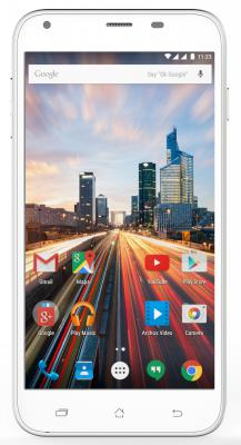 "Смартфон ARCHOS 55 Helium 4G белый 5.5"" 16 Гб LTE Wi-Fi GPS 3G"