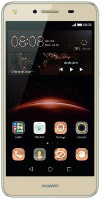 "Смартфон Huawei Y5 II золотистый 5"" 8 Гб Wi-Fi GPS 3G 51050LRH"