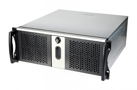 Серверный корпус 4U Chenbro RM41300H0112184 Без БП чёрный