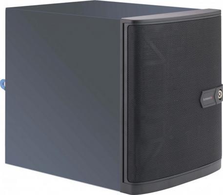 Серверный корпус mini-ITX Supermicro CSE-721TQ-250B 1400 Вт чёрный