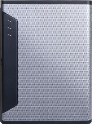 Серверный корпус mini-ITX Chenbro SR30169T3 Без БП серебристый
