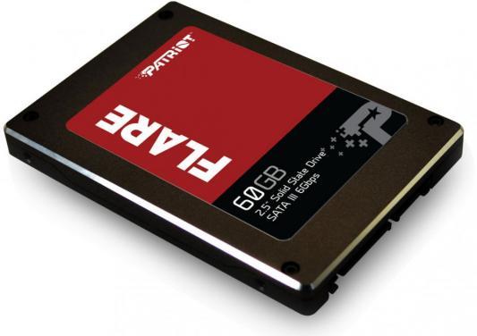 """цена Твердотельный накопитель 2.5"""" 60GB Patriot Flare SATAIII PFL60GS25SSDR"""
