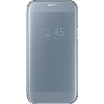 цена на Чехол Samsung EF-ZA520CLEGRU для Samsung Galaxy A5 2017 Clear View Cover синий
