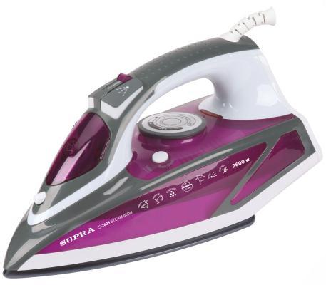 Утюг Supra IS-2605 2600Вт фиолетовый supra is 2602c