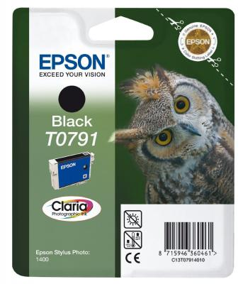 Картридж Epson C13T07914010 для Epson Stylus Photo 1500W черный картридж epson t009402 для epson st photo 900 1270 1290 color 2 pack