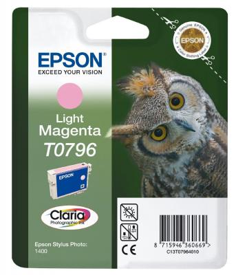 Картридж Epson C13T07964010 для Epson Stylus Photo 1500W пурпурный картридж epson c13t07954010 для epson stylus photo 1500w голубой