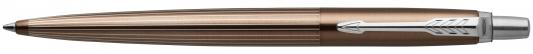 Шариковая ручка автоматическая Parker Jotter Premium K176 Carlisle Brown Pinstripe CT синий M 1953201 шариковая ручка автоматическая parker jotter premium k176 tower синий m 1953194