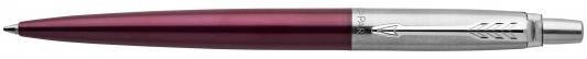 Шариковая ручка автоматическая Parker Jotter Core K63 Portobello Purple CT синий M 1953192 шариковая ручка автоматическая parker jotter core k63 kensington red ct синий m