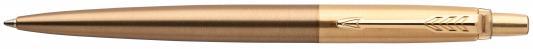 Шариковая ручка автоматическая Parker Jotter Luxe K177 West End Gold синий M 1953203  конвертор parker converter de luxe z18 s0050300
