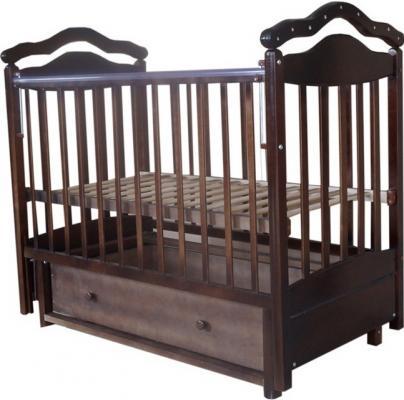 Кроватка с маятником Лаура 8 3D (с ящиком/807071)