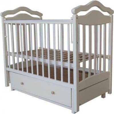 Кроватка с маятником Лаура 8 3D (с ящиком/807068)