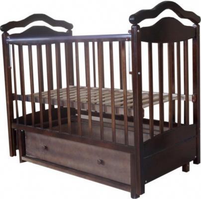 Кроватка с маятником Лаура 8 3D (с ящиком/807069)