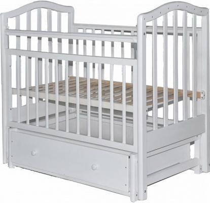 Кроватка с маятником Лаура 8 3D (с ящиком/807070)