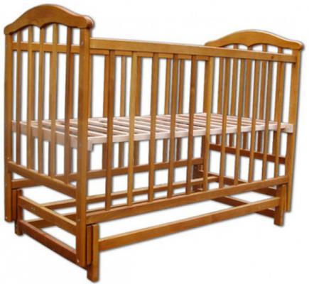 Кроватка с маятником Наполеон Чайка (без ящика)
