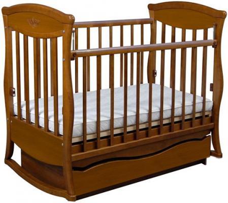 Кроватка с маятником Наполеон Грация (2 ящика/800166)
