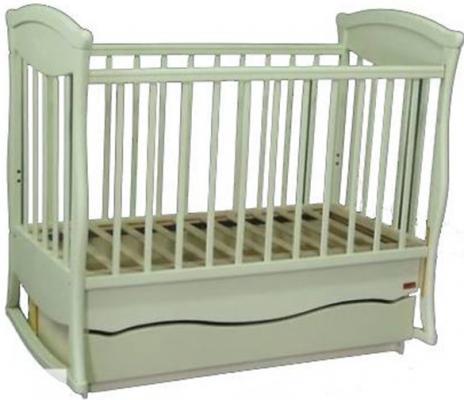 Кроватка с маятником Наполеон Грация (2 ящика/800167)