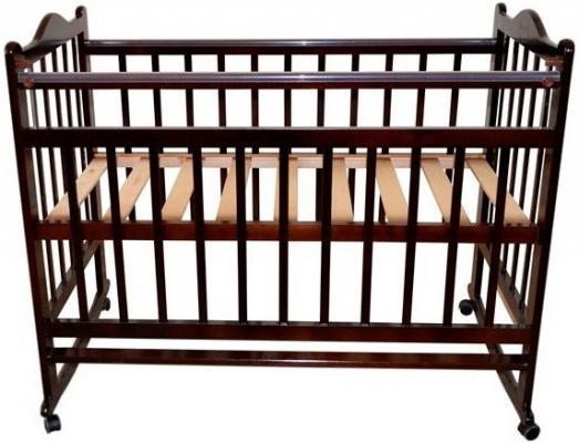 Кроватка-качалка Briciola 1 (темная)