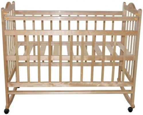 Кроватка-качалка Briciola 1 (светлая)