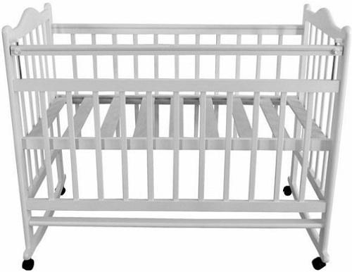 Кроватка-качалка Briciola 1 (белая)
