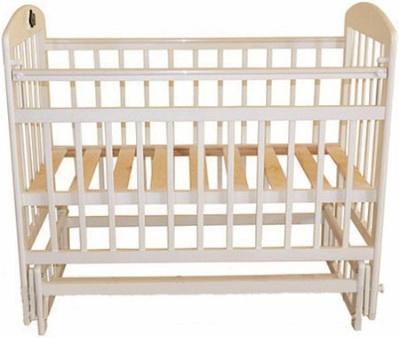 Кроватка с маятником Briciola 9 (без ящика/слоновая кость)
