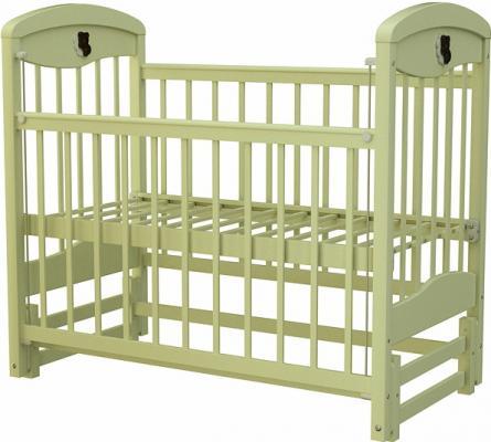 Кроватка с маятником Briciola 2 (без ящика/слоновая кость)