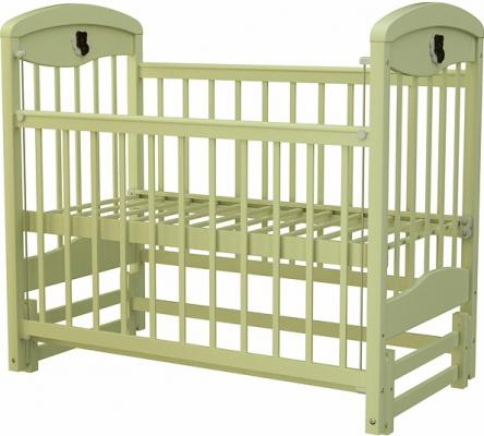 Кроватка с маятником Briciola 2 (без ящика/светлая)