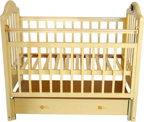 Кроватка с маятником Briciola 10 (с ящиком/слоновая кость)