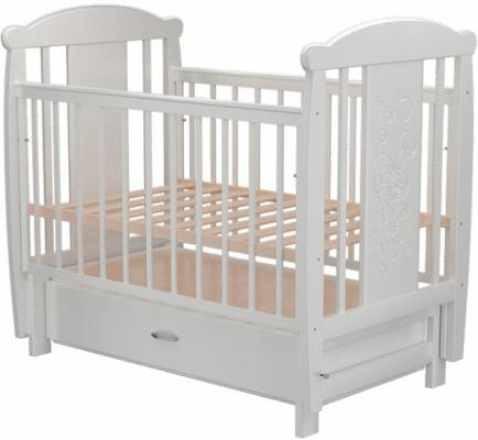 Кроватка с маятником с маятником Valle Bunny 04 (с ящиком/809992)