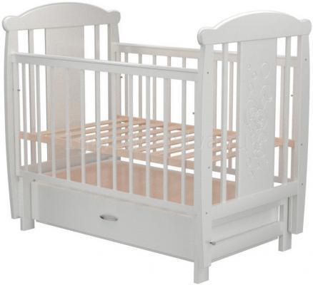 Кроватка с маятником с маятником Valle Bunny 04 (с ящиком/809994)