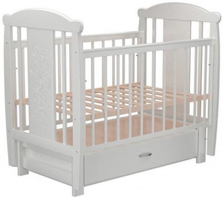 Кроватка с маятником с маятником Valle Bunny 05 (с ящиком/809986)
