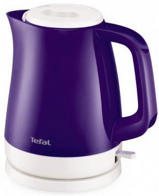 Чайник Tefal KO151630 2400 Вт фиолетовый 1.5 л пластик