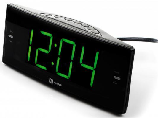 Радиобудильник Harper HCLK-2044 чёрный