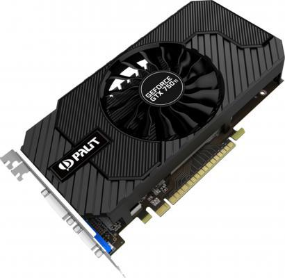 Видеокарта 2048Mb Palit GeForce GTX750TI StormX OC PCI-E 128bit DDR5 DVI HDMI VGA NE5X75TSHD41-1077F Retail