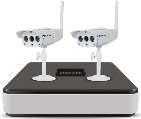 Комплект видеонаблюдения Vstarcam NVR-C16 KIT ip видеорегистратор vstarcam nvr 8