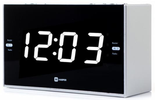 цены Радиобудильник Harper HCLK-2041 чёрный