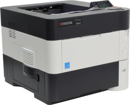 Принтер Kyocera Ecosys P3060DN ч/б A4 60ppm 1200x1200dpi Duplex Ethernet принтер kyocera ecosys p2040dw ч б а4 40ppm с дуплексом и lan wifi