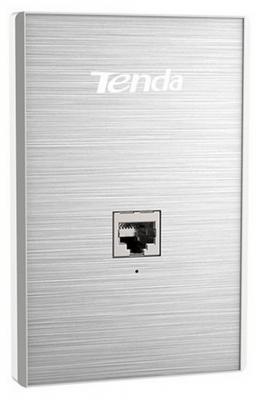 Точка доступа Tenda W6-US 802.11bgn 300Mbps 2.4 ГГц 1xLAN серебристый цена
