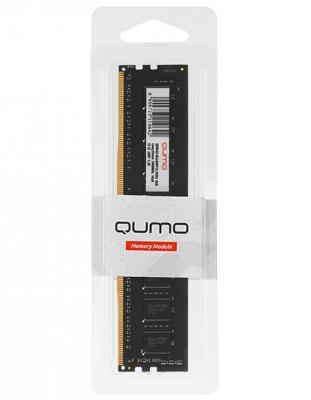 Оперативная память 8Gb PC4-19200 2400MHz DDR4 DIMM QUMO QUM4U-8G2400M16