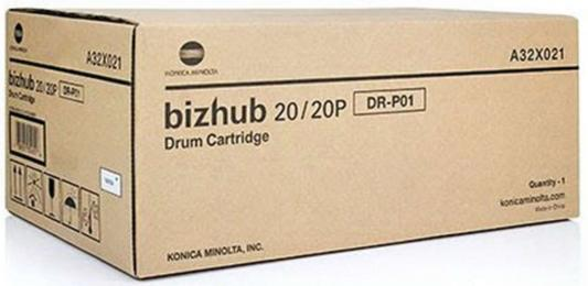 Фотобарабан Konica Minolta DR-P01 для bizhub 20 черный A32X021 фотобарабан yuanfeng konica minolta bizhub c500 c550 c650 c8050 c451 c500 opc drum