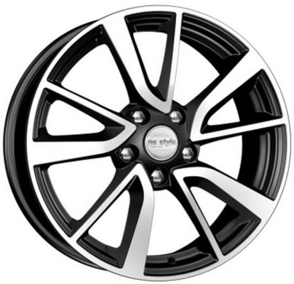 Диск K&K Nissan Teana (КСr699) 7xR17 5x114.3 мм ET45 Алмаз черный диск k