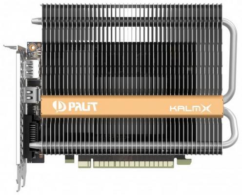 Видеокарта 4096Mb Palit GeForce GTX1050 Ti KalmX PCI-E 128bit GDDR5 DVI HDMI DP HDCP NE5105T018G1-1070H Retail