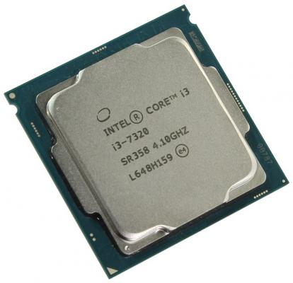 Процессор Intel Core i3-7320 4.1GHz 4Mb Socket 1151 BOX