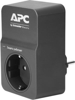 Сетевой фильтр APC PM1WB-RS черный 1 розетка кабель сетевой apc ap8716r ap8716r