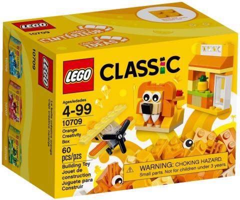 """Конструктор LEGO """"Classic"""" - Оранжевый набор для творчества 60 элементов"""